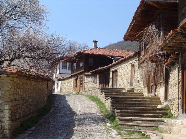 bulgarian traditional house