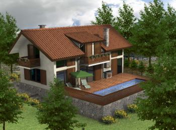 modern 3 bedroom house 3 bedroom house in modern style 16215