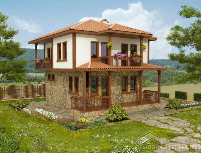 2 Storey Traditional Bulgarian House