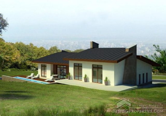3 bedroom bungalow with garage and basement modern for Modern 3 bedroom house with garage