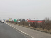 Development plot of land for sale on the highway at the entrance of Sofia