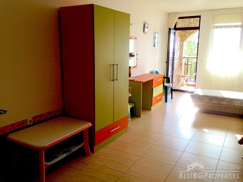 Moderno appartamento con una camera da letto con vista mare a Saint Vlas
