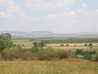 Regulated plot with panoramic view near Yambol