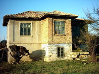 Rural House Built In The Traditional Bulgarian Style
