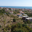 Building plot with sea view for sale in Saint Vlas