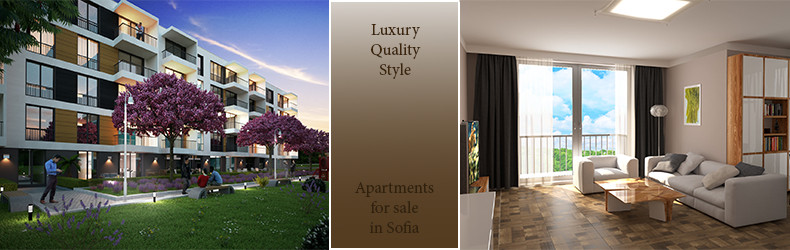 Apartments in High class gated complex for sale in Sofia